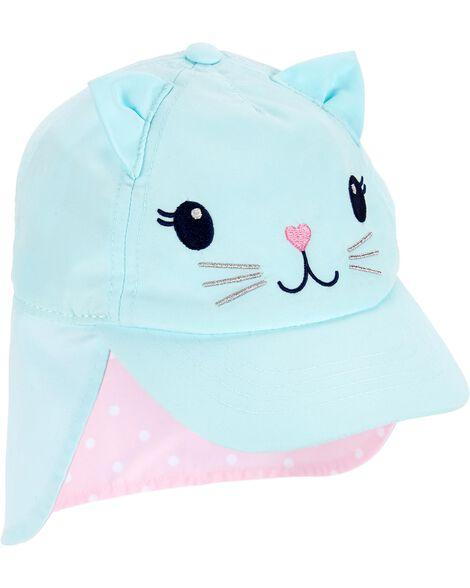 Cat Sun Baseball Hat