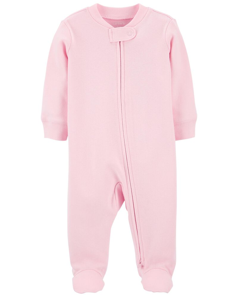 2-Way Zip Cotton Sleep & Play, , hi-res