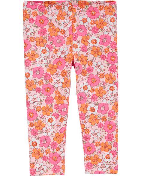 Legging capri Flower Power