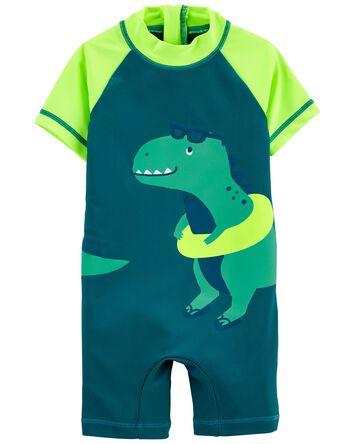 Dinosaur 1-Piece Rashguard