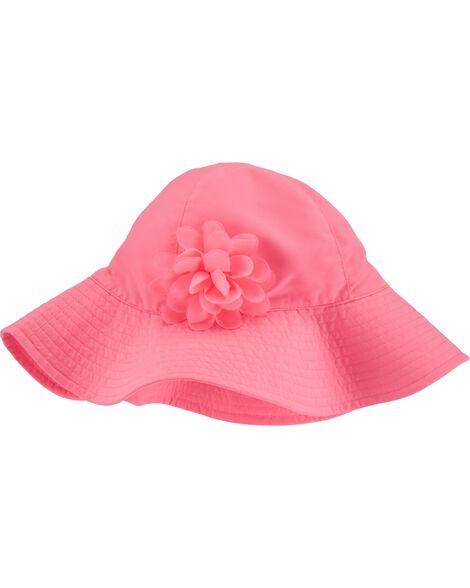 Rosette Sun Hat