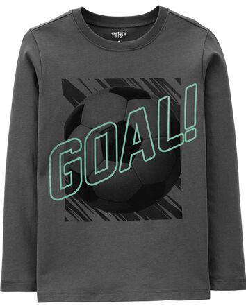 Soccer Goal Jersey Tee