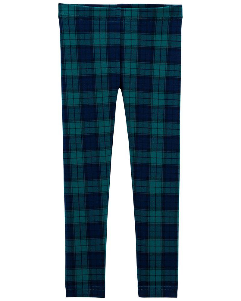 Legging à motif écossais, , hi-res