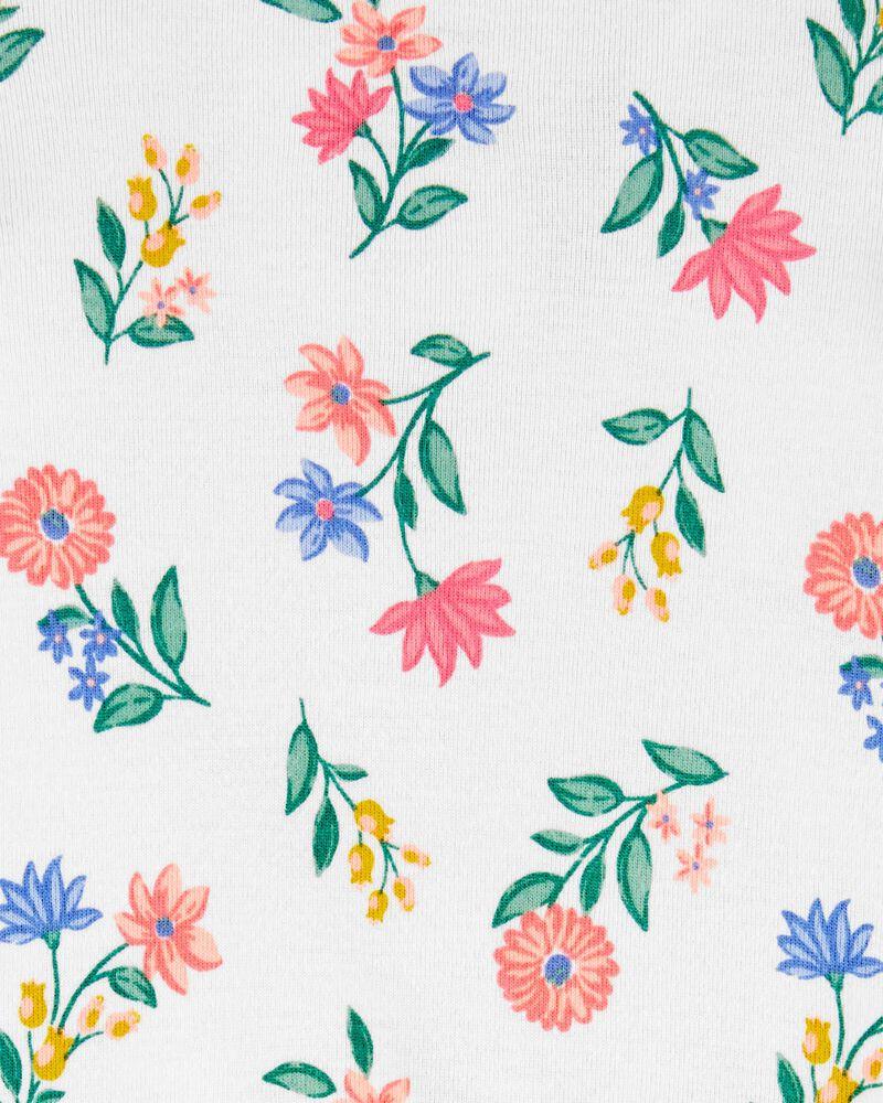Floral Snap-Up Romper, , hi-res