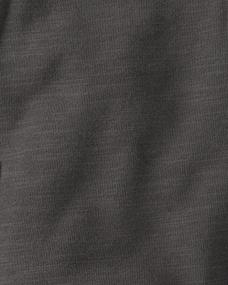 2-Piece Organic Slub Knit Shortalls Set, , hi-res