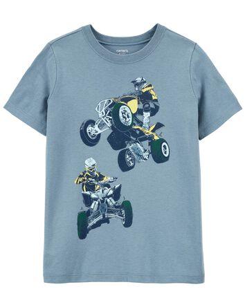 T-shirt en jersey Offroad
