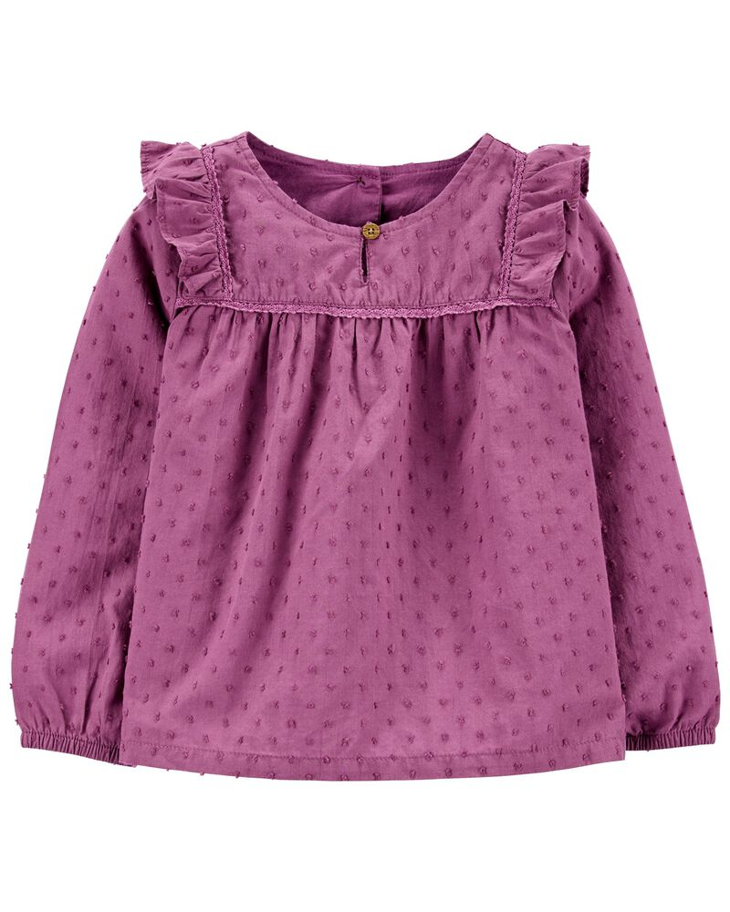 Woven Dobby Top, , hi-res