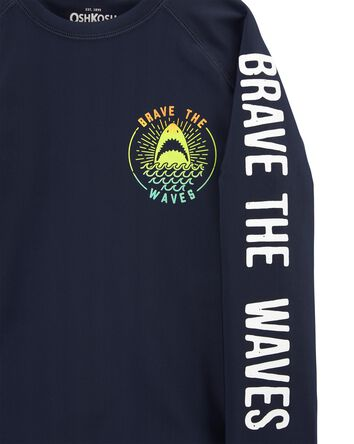 Brave The Waves Rashguard