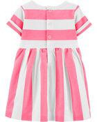Striped Sea Horse Jersey Dress, , hi-res