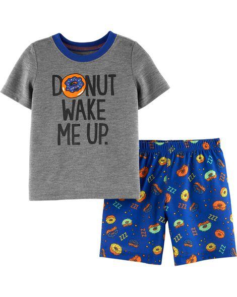 Pyjama 2 pièces à beignes
