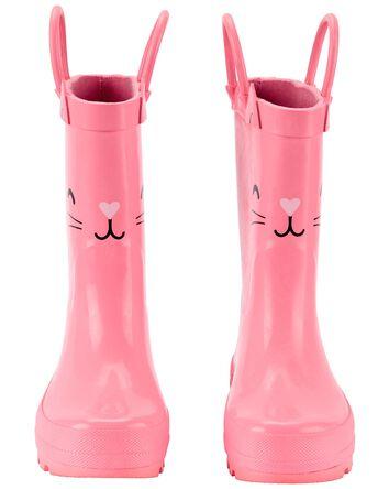 Bottes de pluie à chat