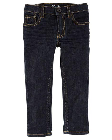 Jeans fuseau coupe régulière - rinçage véritable