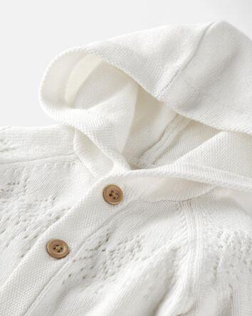 Organic Cotton Hooded Jumpsuit