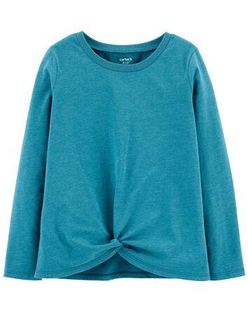 T-shirt à manches longues en jersey