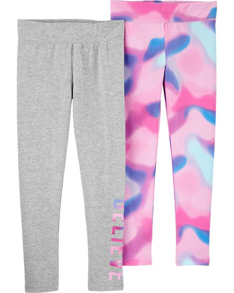 2-Pack Tie-Dye Leggings