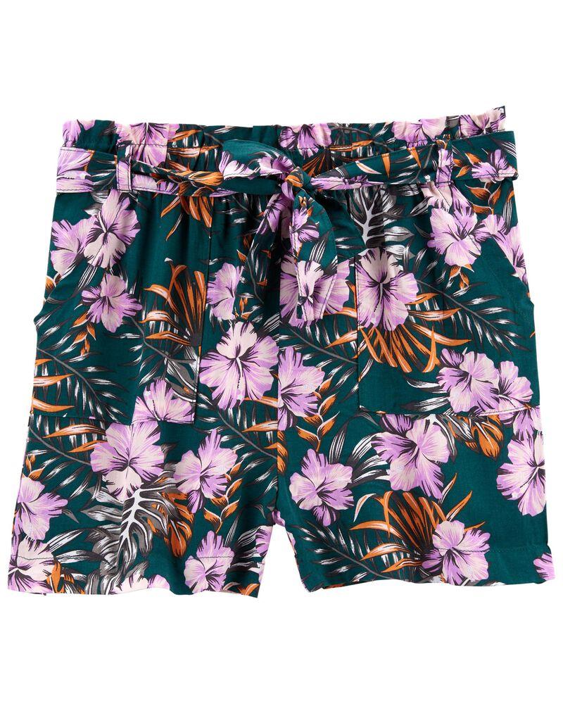 Tween Rayon Shorts, , hi-res
