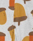 Pyjama 1 pièce en molleton sans pieds gland, , hi-res