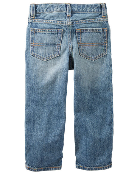 Classic Jeans - Natural Indigo Wash