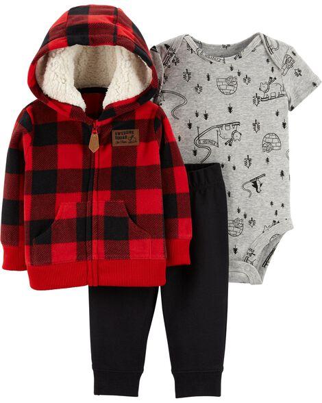 3 Piece Little Jacket Set Carter S Oshkosh Canada