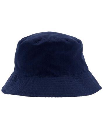 Chapeau cloche rayé