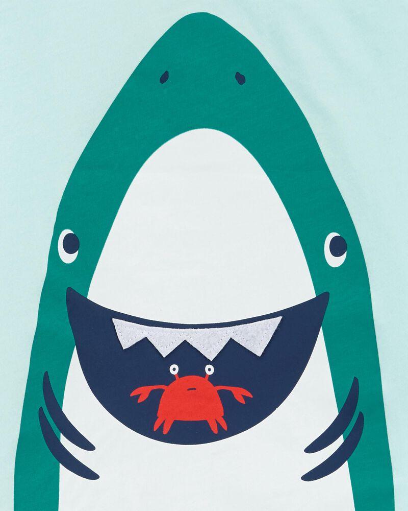 2-Piece Shark Tee & Short Set, , hi-res