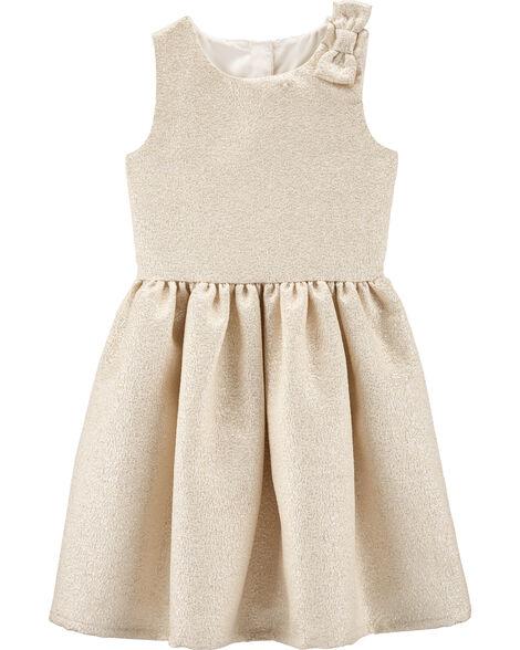 Bow Holiday Dress