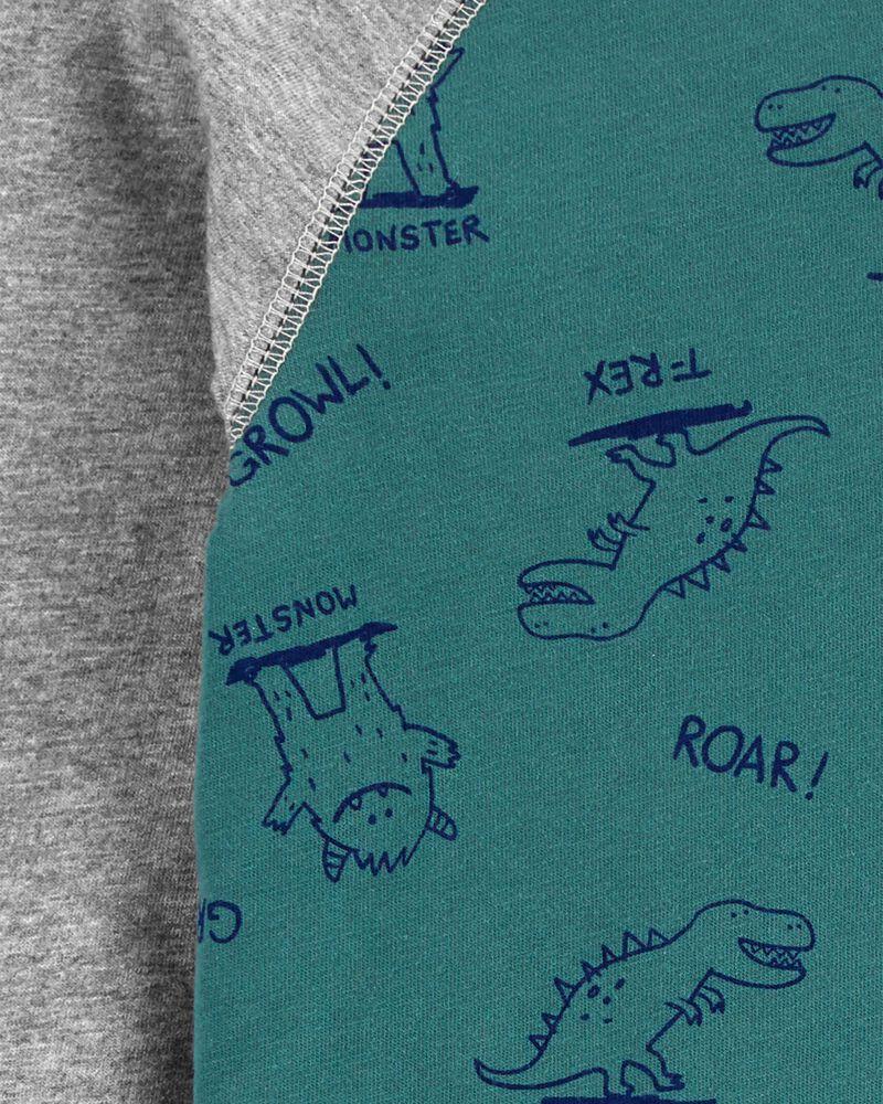 Haut henley en jersey à monstre, , hi-res