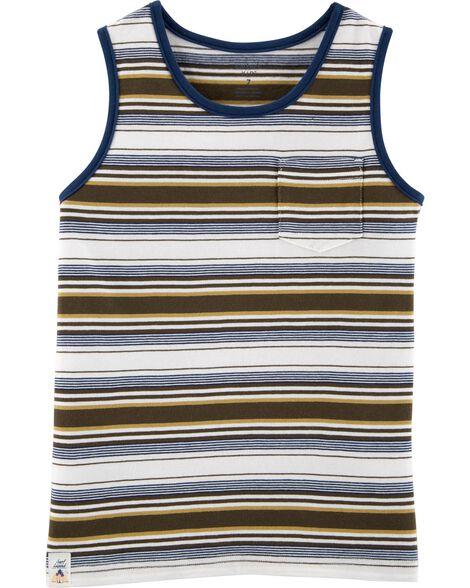 Striped Jersey Tank