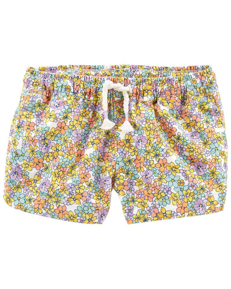 Floral Dolphin Shorts, , hi-res