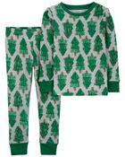 2-Piece Holiday 100% Snug Fit Cotton PJs, , hi-res