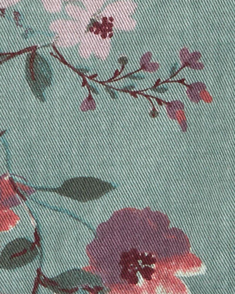 Floral Twill Jacket, , hi-res