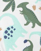 Barboteuse à boutons-pression et dinosaure, , hi-res