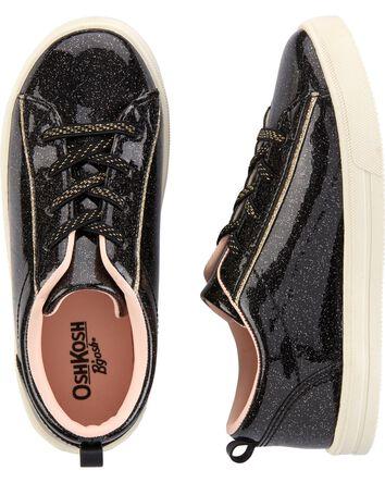 Black Slip-On Sneakers