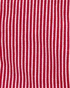 Hickory Stripe Stretch Shortalls, , hi-res