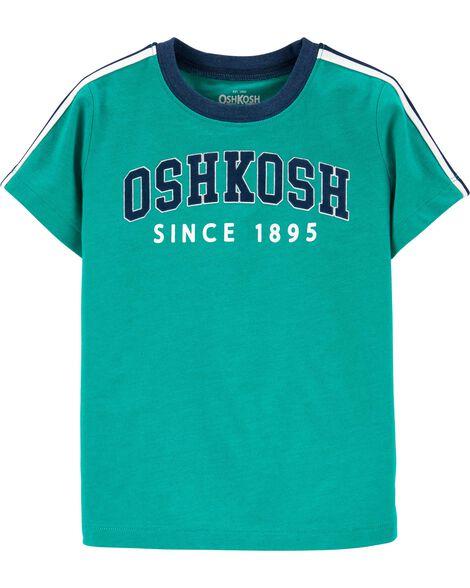 T-shirt en jersey à logo