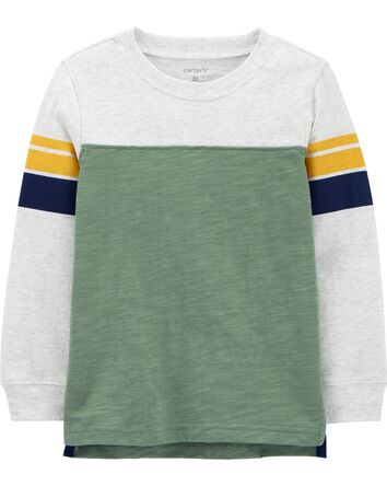 T-shirt rayé en jersey