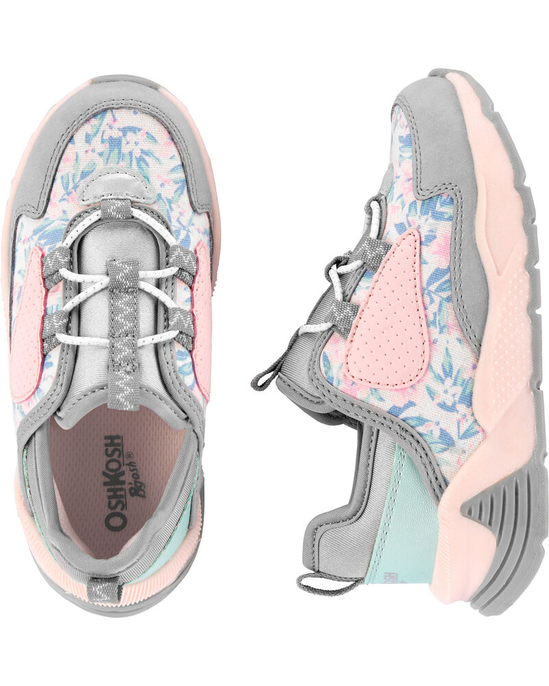 Floral Sneakers, , hi-res