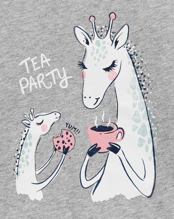Giraffe Jersey Tee