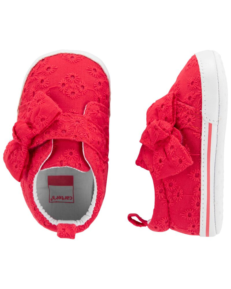 Eyelet Slip-On Baby Shoes, , hi-res