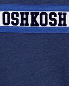 T-shirt à logo de style universitaire, , hi-res