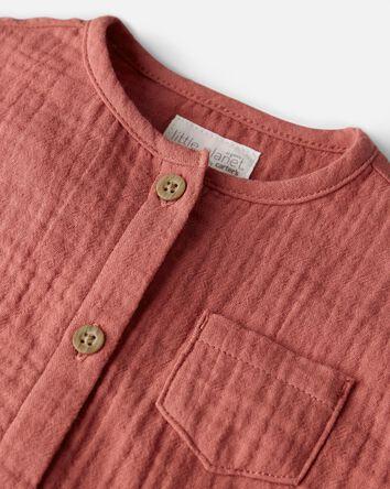 Organic Cotton Gauze Jumpsuit