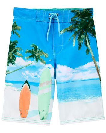 Surfs Up Swim Trunks