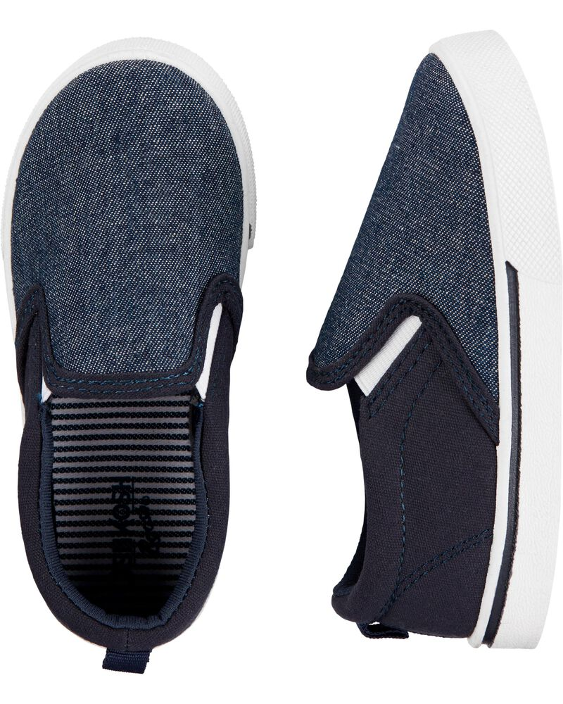 Chaussures marine à enfiler, , hi-res