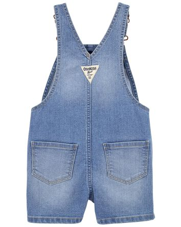 Stretch Denim Shortalls in Nineties...