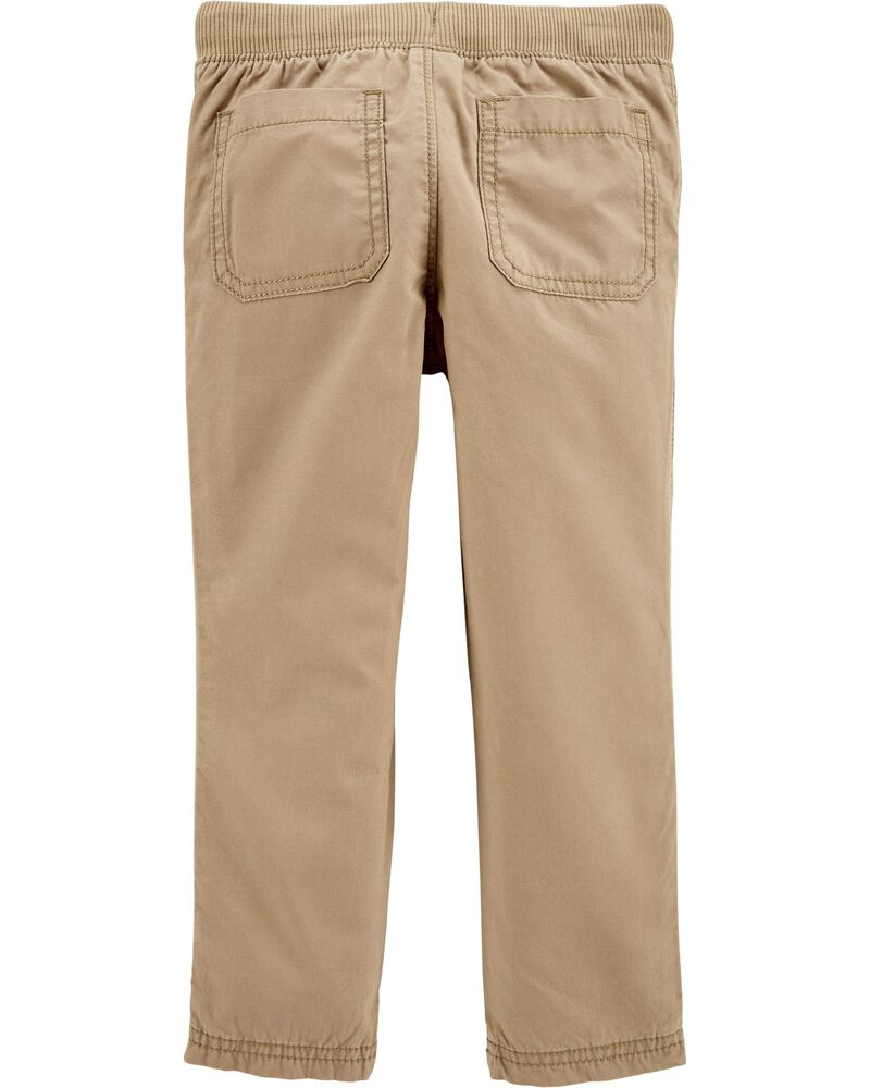 Pull-On Reinforced Knee Pants, , hi-res