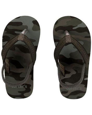 Camo Flip Flops