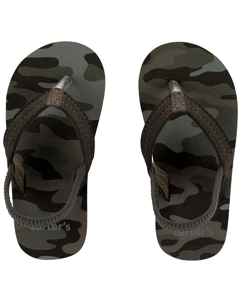Sandales de plage camouflage, , hi-res