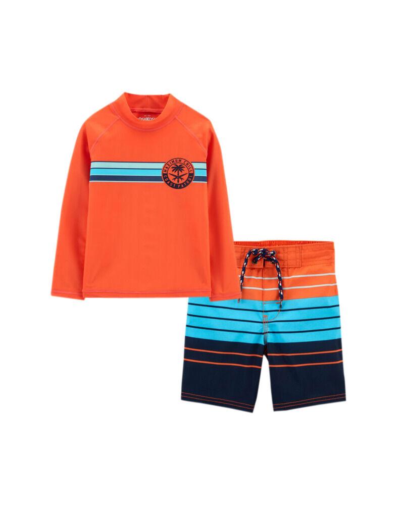 Coast Patrol Rashguard & Trunks Set, , hi-res
