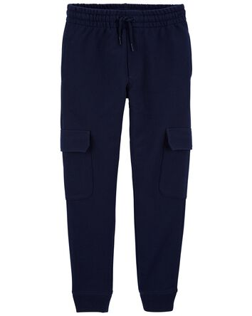 French Terry Cargo Joggers