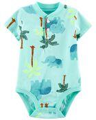 Tropical Henley Bodysuit, , hi-res